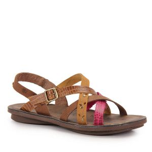 Sand�lia Rasteira Birken Feminina New Face - Color