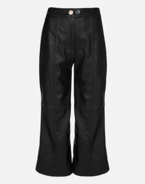 CALÇA PANTACOURT DE LEATHER AMARO
