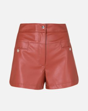 SHORT FASHION DE LEATHER AMARO