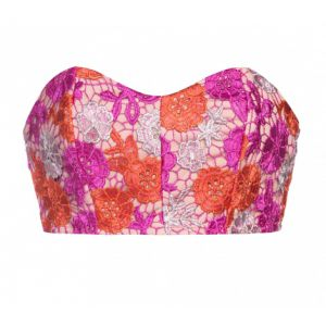 TOP CROPPED FLOWER AMARO
