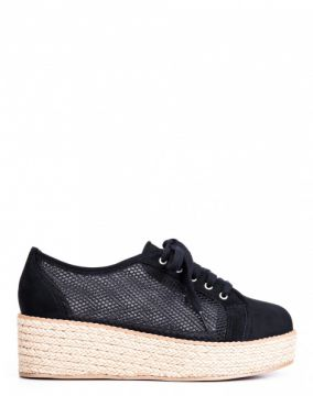 OXFORD FLATFORM CORDA NATURAL AMARO