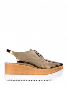 OXFORD FLATFORM SLING BACK AMARO