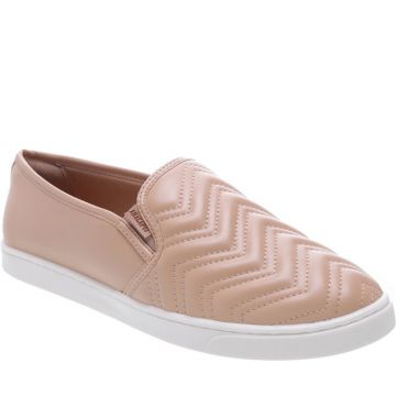 Tênis Slip On Chevron Nude - Anacapri