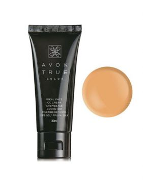 Cc Cream Fps 50 True Color 30ml - Avon
