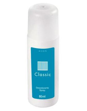 Desodorante Spray Classic 80ml - Avon