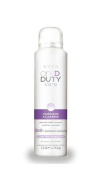 Desodorante Aerosol On Duty Clareador 150ml - Avon
