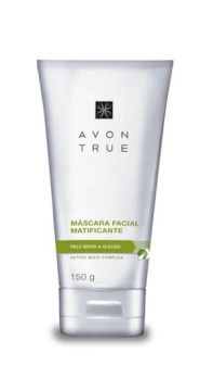 True Máscara Facial Matificante Pele Mista A Oleosa 150ml -