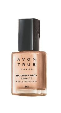 Esmalte True Color Nailwear Pro+ Metalizado 10ml - Avon