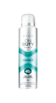Desodorante Aerossol Antitranspirante On Duty Women Energy -