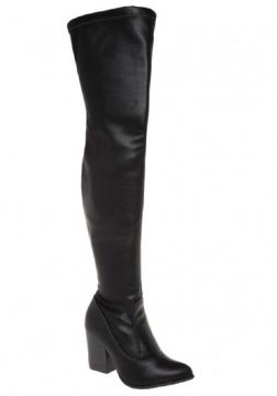 Bota Over The Knee Ramarim - 1616134 - Preto