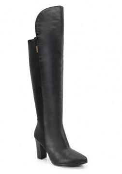 Bota Over The Knee Beira Rio - 9043105 - Preto