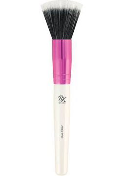RK By Kiss Pincel Duo Fiber Stippling - Feminino-Branco+Rosa