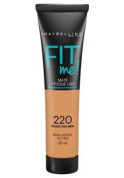 Maybelline Base Líquida Fit Me Cor 220 - Feminino-Incolor