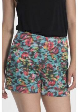 Short My Place Hot Pants Estampado - Feminino-Estampado