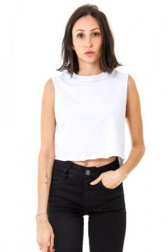 Top Cropped V Korova Branco