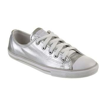 TÊNIS FEMININO CONVERSE ALL STAR CT AS DAINTY LEATHER OX SI
