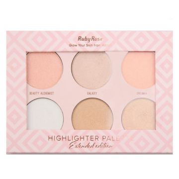 Paleta De Iluminadores Highlighter Palette Ruby Rose