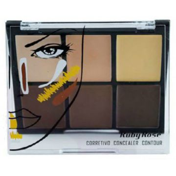 Corretivo Concealer Contour Ruby Rose Light