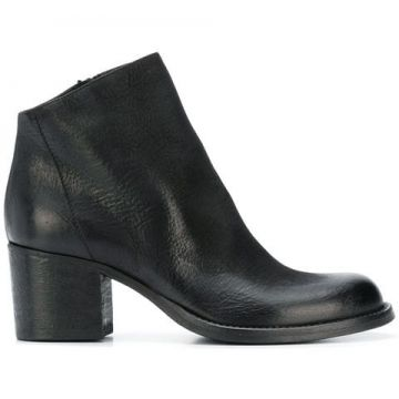Ankle Boot De Couro  - Strategia