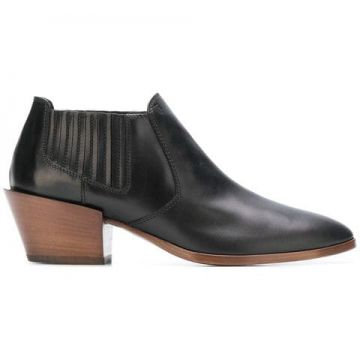 Low Heeled Ankle Boots - Tods