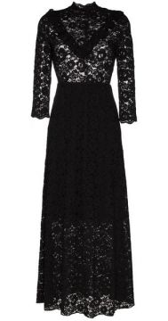High Neck Lace Maxi Dress - By Timo