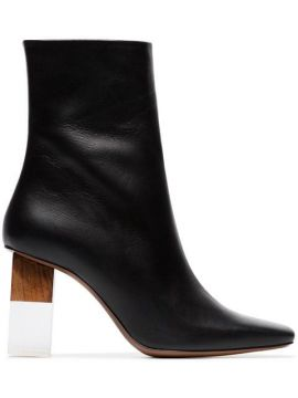 Hea 80 Leather Ankle Boots - Neous