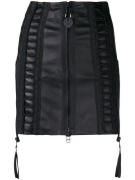 Zipped Short Skirt - Diesel
