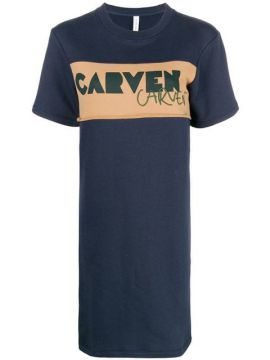 Logo T-shirt Dress - Carven