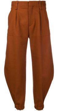 Cropped Tapered Trousers - Chloé