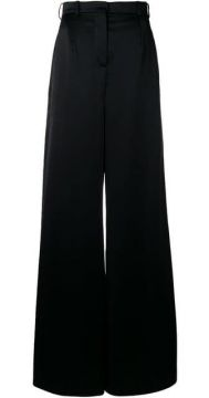 High-waisted Trousers - Lanvin