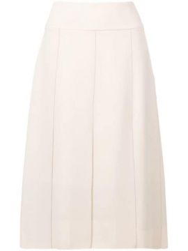 Piped Seam Contrast Skirt - Cyclas