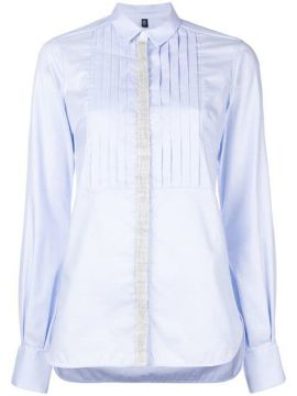 Fitted Long-sleeved Shirt  - Eleventy