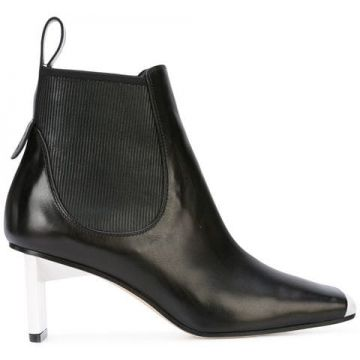 Ankle Boot De Couro - Loewe