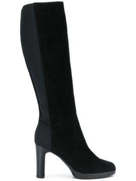 Elasticated Knee-length Boots - Geox