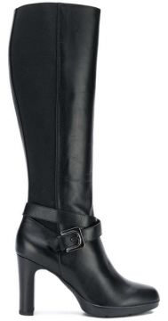 Buckled Knee-length Boots - Geox