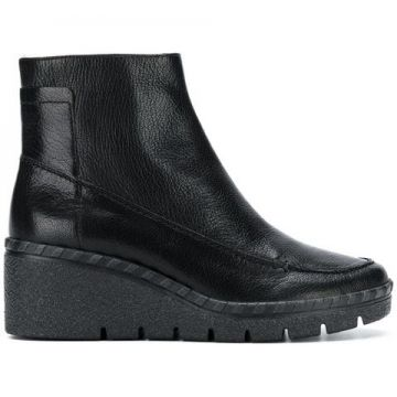 Wedge Ankle Boots - Geox