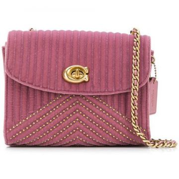 Quilted Cross Body Bag - Coach