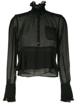 Frilled Loose Blouse  - Carven
