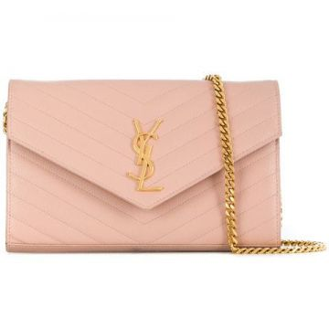 Monogram Chain Clutch - Saint Laurent