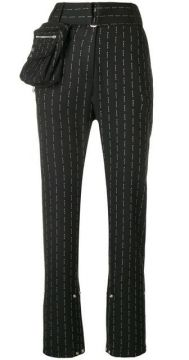 High-waisted Trousers - Alix