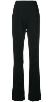 High Waisted Flared Trousers - 16arlington