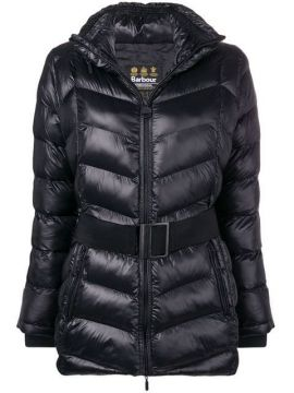 Belted Padded Jacket - Barbour