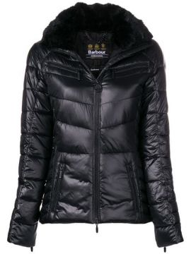 Furry Neck Padded Jacket - Barbour