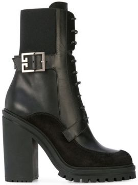 High-heel Combat Boots - Givenchy