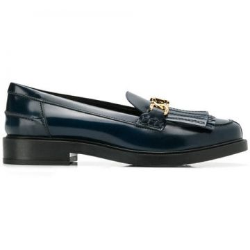 Chain Trim Loafers - Tods