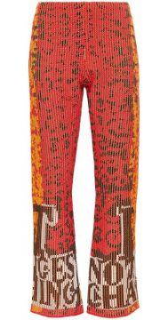Nothing Changes Cropped Flare Trousers - Rudi Gernreich