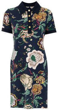 Vestido Polo Estampado - Tory Burch