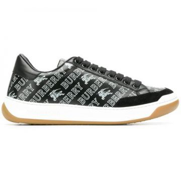 Logo Lace-up Sneakers - Burberry