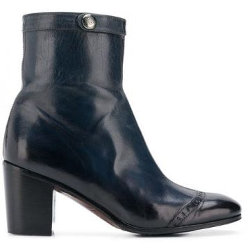 Ankle Boot windy De Couro  - Alberto Fasciani