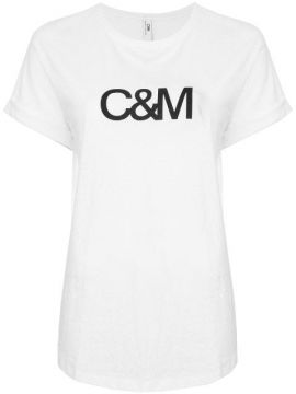 Graphic Print T-shirt - C&m